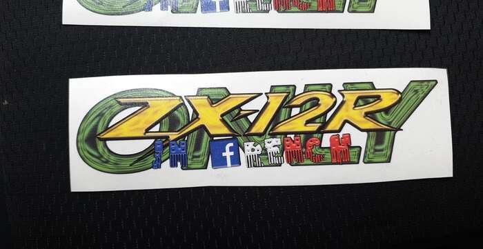 autocollants zx12r ZX12 zx-12r ZX-12 ZX12-R