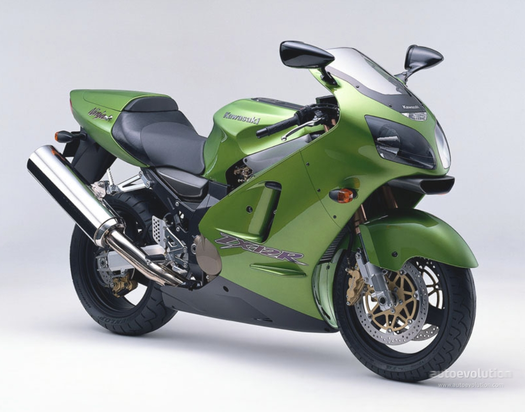 Kawasaki-ZX1200-A1-Candy Lime Green (Front)