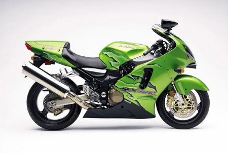 Kawasaki-ZX1200-A2 Candy Persimmon Green (Right)