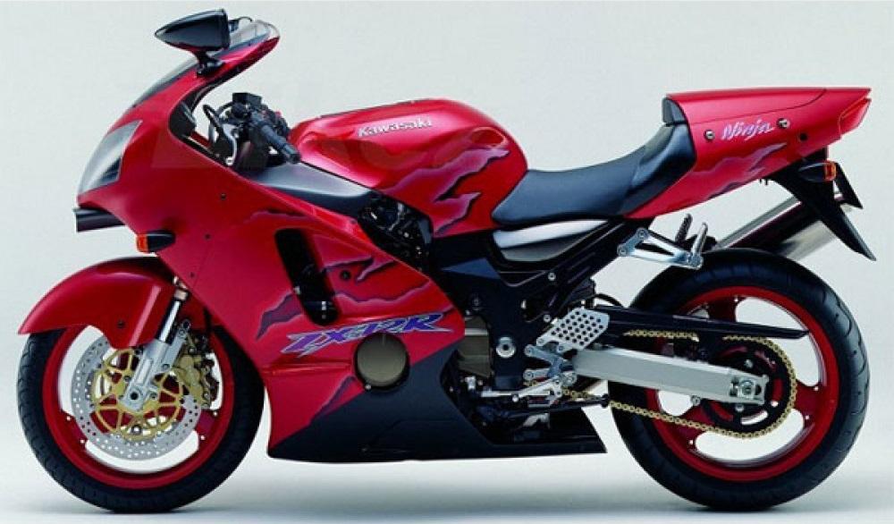 Kawasaki-ZX1200-A2 Candy Persimmon Red