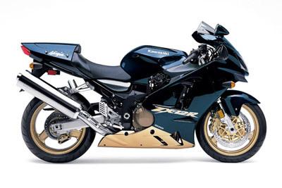 Kawasaki-ZX1200-B1 Pearl Mystic Black (Right)